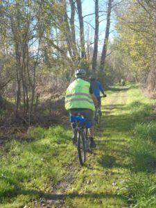 Rock Spur cyclists